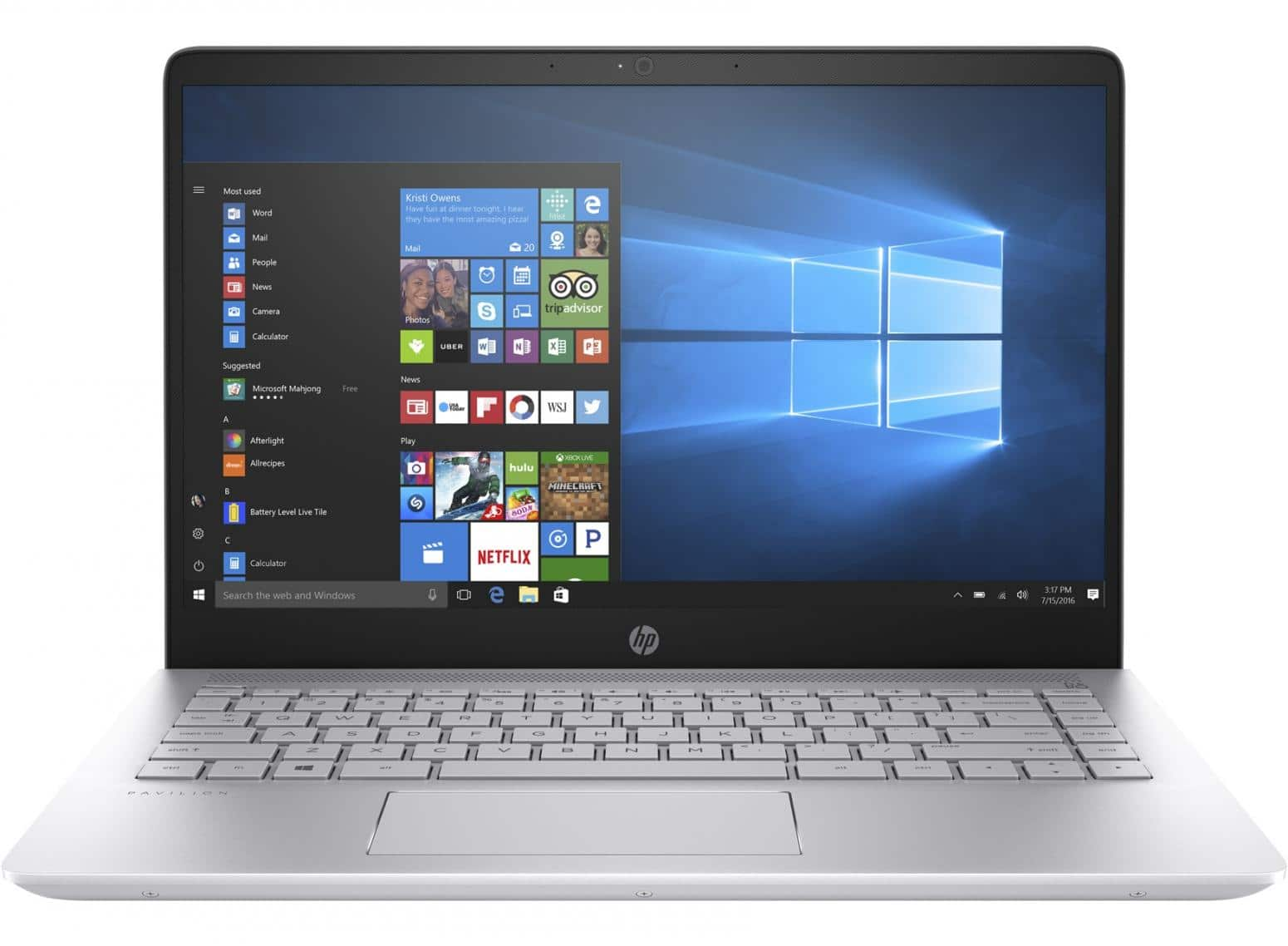 "HP Pavilion 14-bf103nf, ultrabook 14"" IPS Refresh SSD512 940M (835€)"