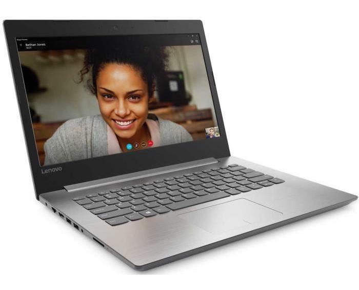Lenovo Ideapad 320-14IKBN, PC 14 pouces Full HD i5 Kaby SSD (449€)