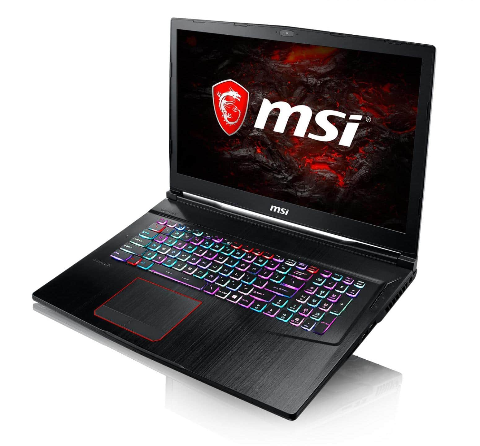 "MSI GE73VR 7RF-046X, PC gamer 17"" GTX 1070 120 Hz SSD256 (1673€)"