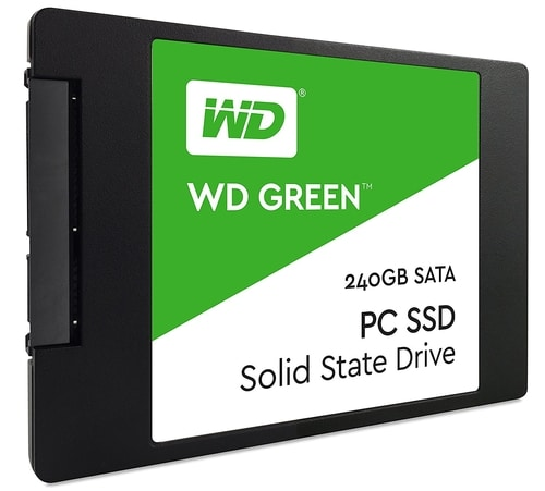 "<span class=""tagtitre"">Bon Plan - </span>SSD 2.5 pouces Western Digital Green de 240 Go pour 49€"