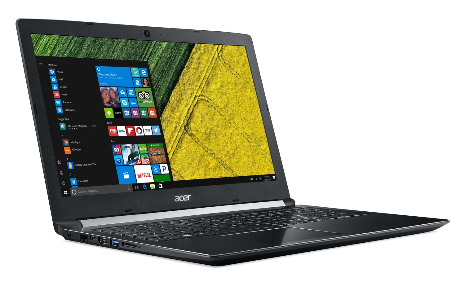 "Acer Aspire A515-51G-50QS, PC portable 15"" Full SSD 256 MX130 i5 (599€)"