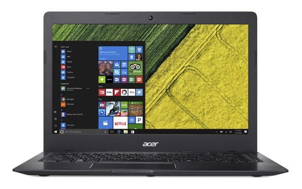 Acer Swift 1, Ultrabook avec nouveau processeur Intel Gemini Lake