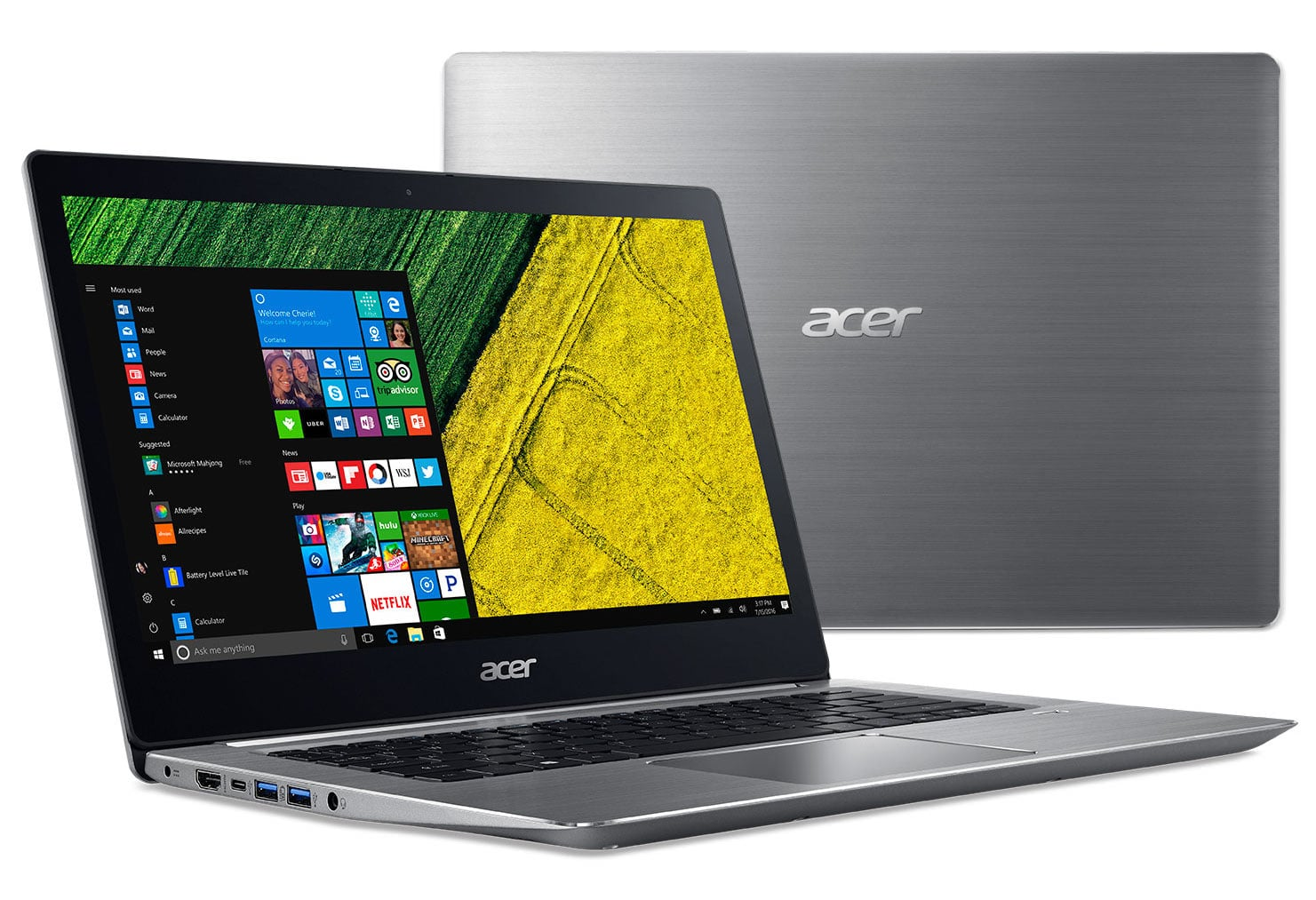 Acer Swift 3 SF314-52-70AR, ultrabook 14 pouces Full IPS i7 SSD256 à 855€