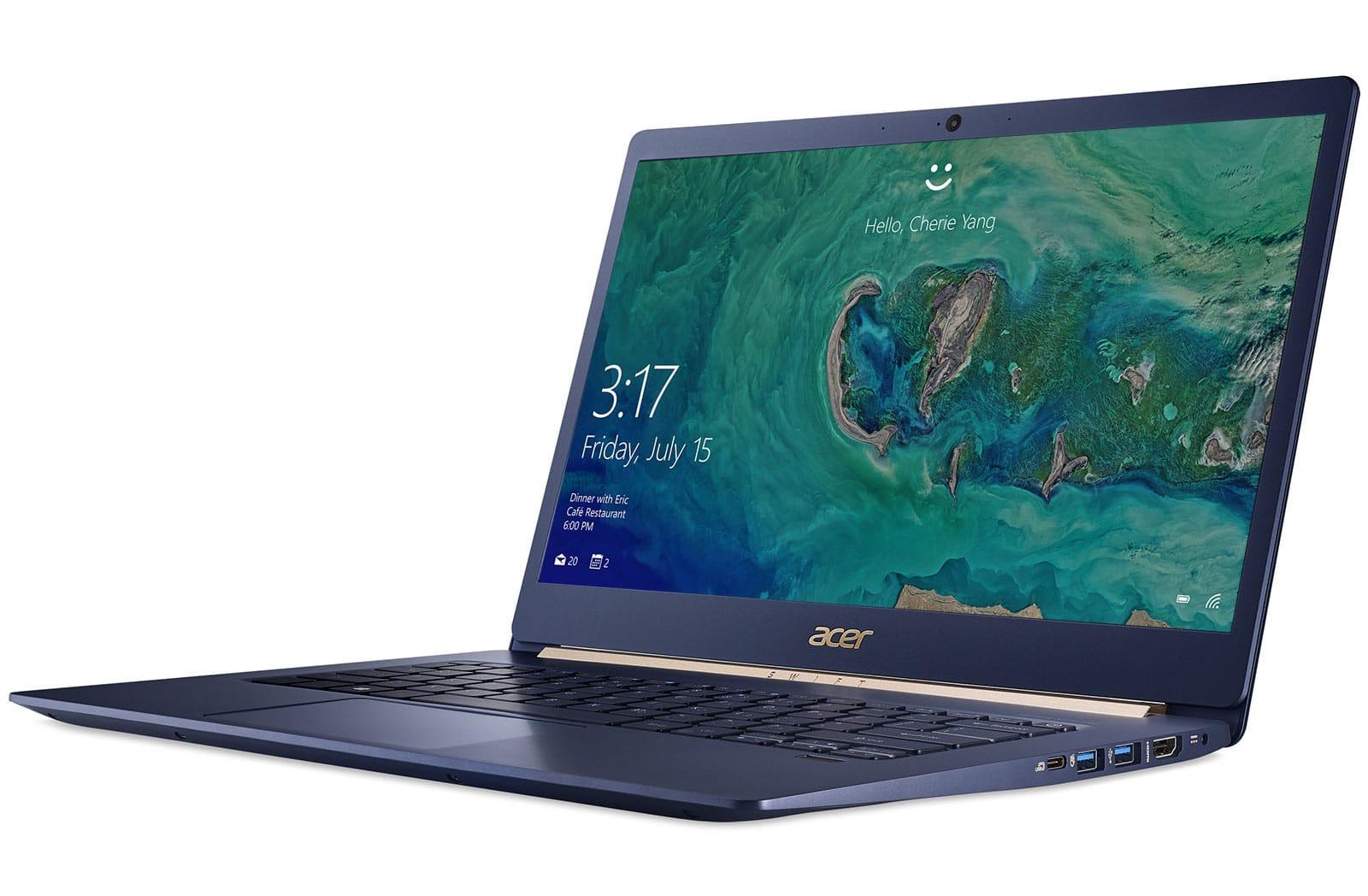 "Acer Swift SF514-52T-80JY, ultrabook 14"" Tactile & léger IPS Quad i7 SSD à 1099€"