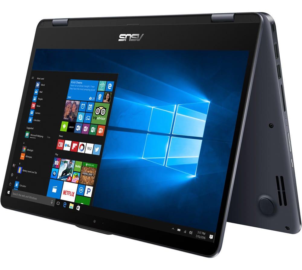 "Asus VivoBook Flip TP410UA-EC417T, ultrabook 14"" Tablette Quad i7 SSD256 à 950€"