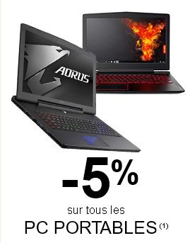 """<span class=""""tagtitre"""">Bon Plan - </span>GrosBill offre 5% de remise sur les PC portables"""