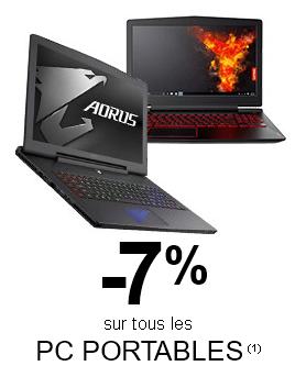 """<span class=""""tagtitre"""">Bon Plan - </span>7% de remise sur les PC portables chez GrosBill"""
