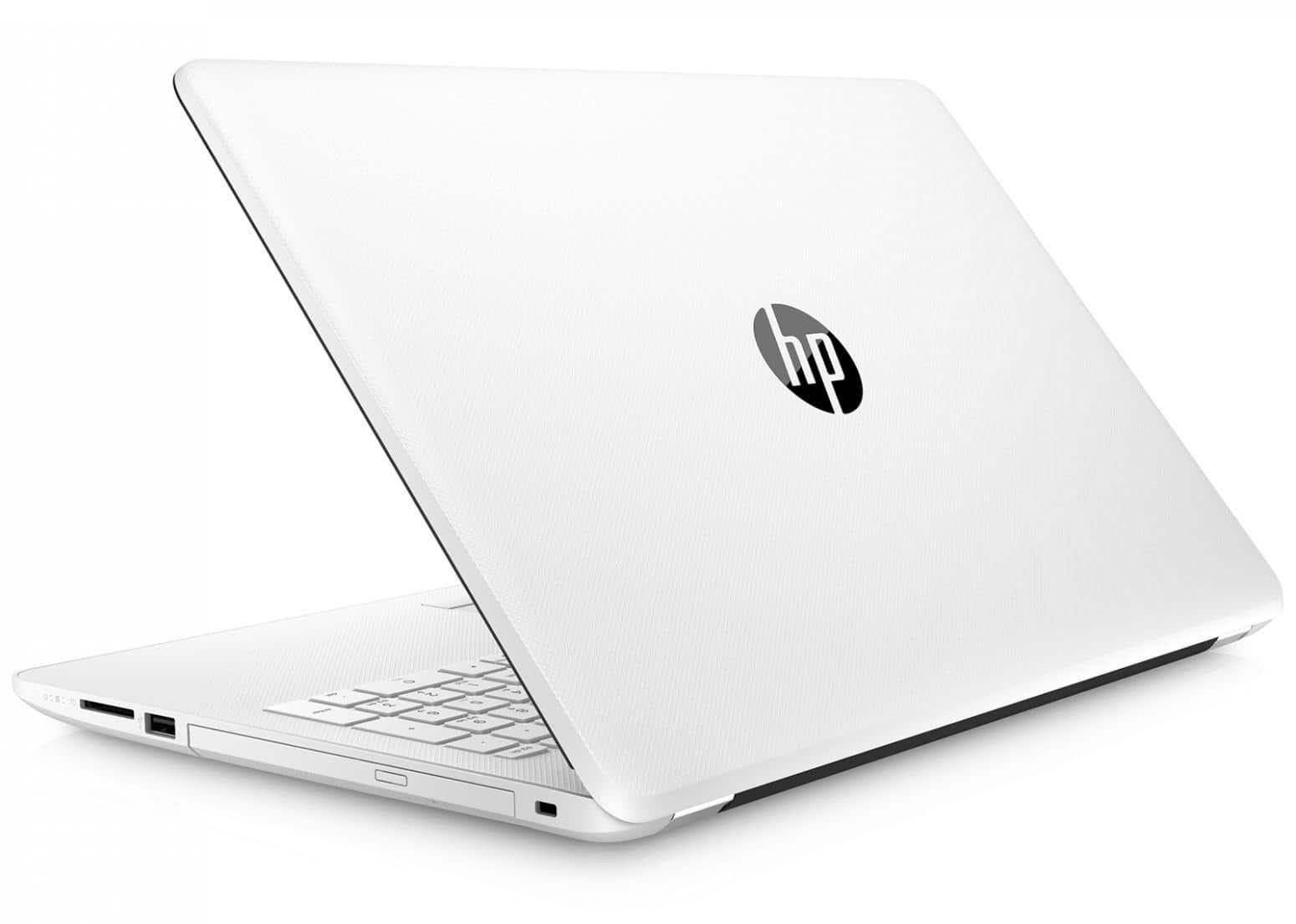 """HP 15-bs501nf, PC portable 15"""" Blanc bureautique Full HD SSD/HDD 8Go à 499€"""