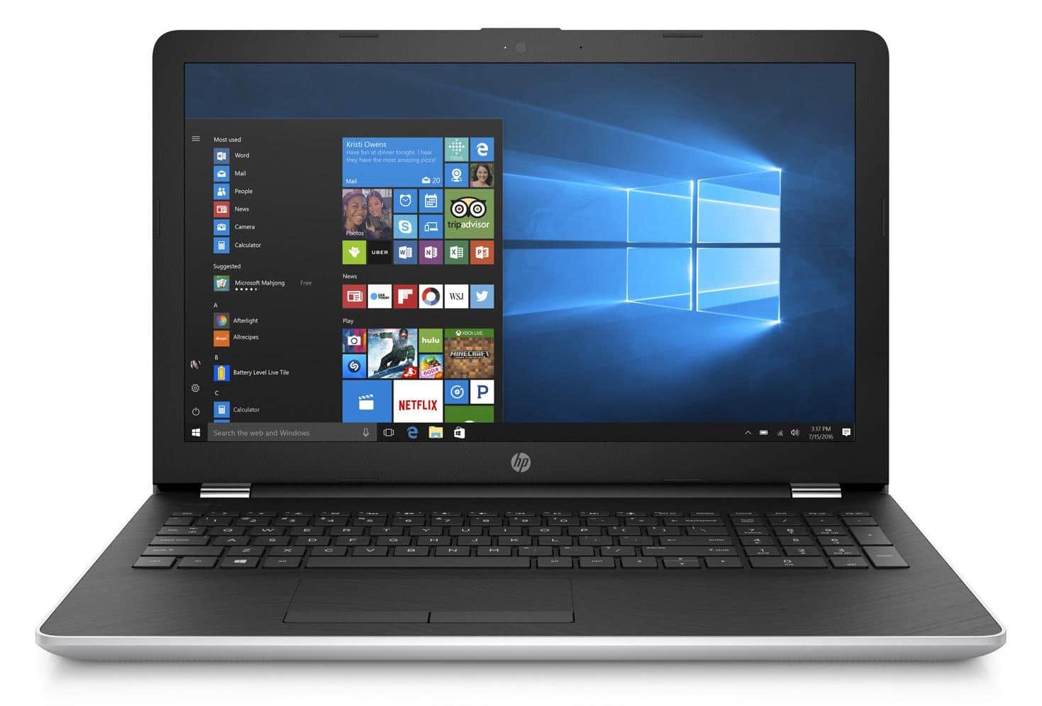 HP 15-bs503nf, PC portable 15 pouces i7 Kaby Rad 530 8Go