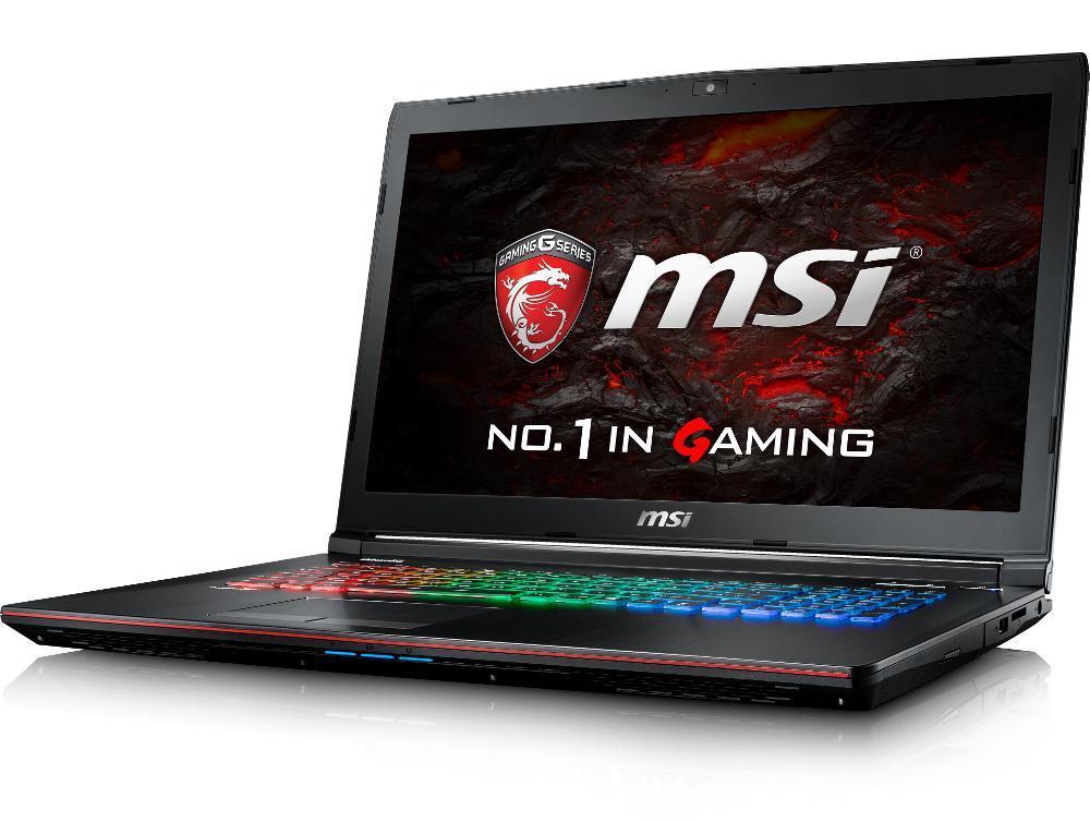 MSI GE72VR 7RF-843X, PC gamer 17 pouces 120Hz GTX 1060 i7 (949€)