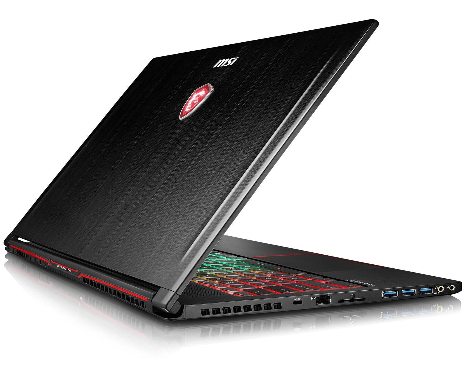 "MSI GS63VR 7RG-092, Ultrabook gamer 15"" fin 120Hz GTX 1070 i7 SSD à 1759€"