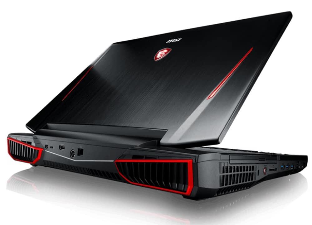 MSI GT83VR Titan, PC portable puissant avec SLI GTX 1080 et Coffee Lake 6 cœurs