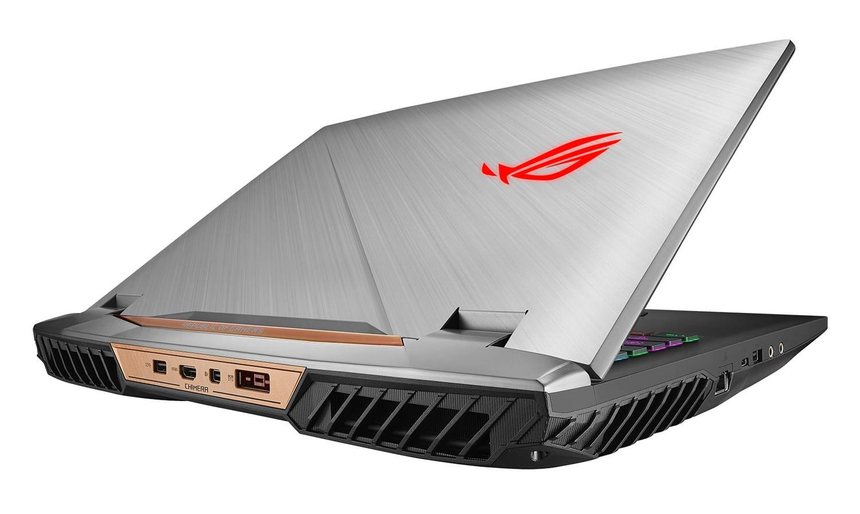 Asus G703VI-E5215T, PC portable 17 pouces IPS 144Hz GTX 1080 SSD 3499€