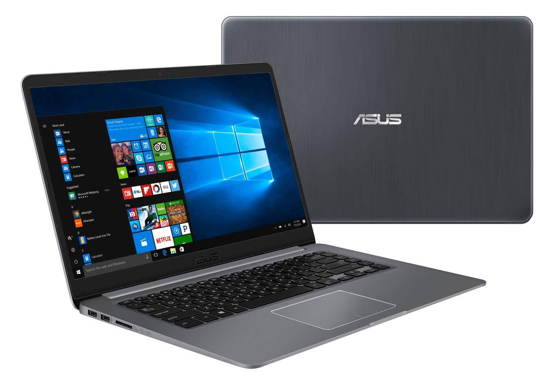 """Asus VivoBook S510UA-BQ465TB, ultrabook 15"""" Full IPS SSD+HDD Kaby à 695€"""