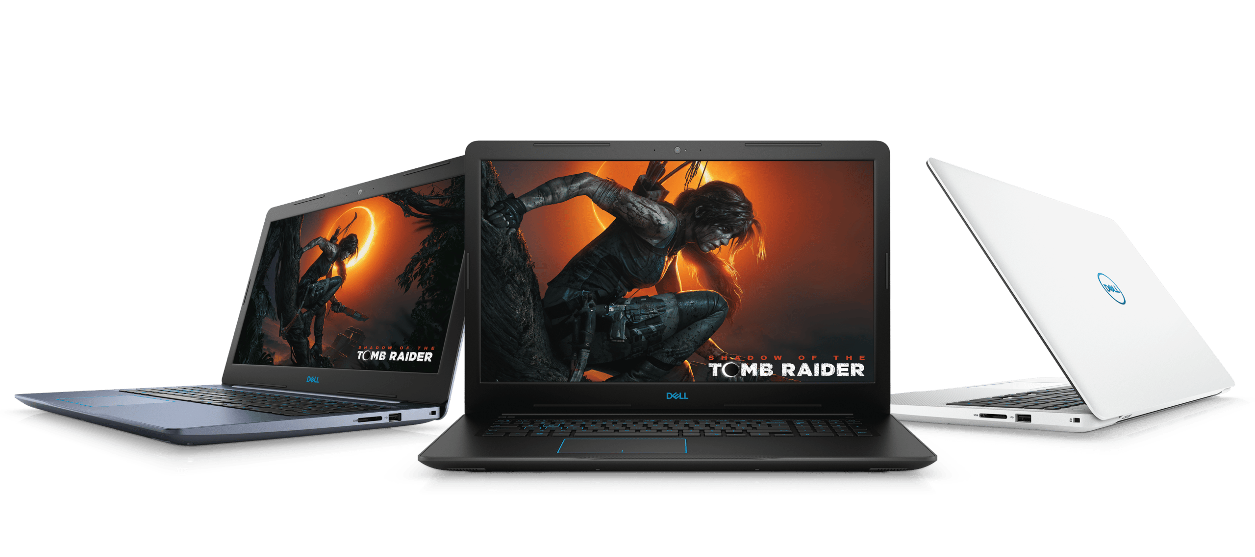 "<span class=""tagtitre"">Coffee Lake - </span>Dell Inspiron Gaming G3, G5 et G7 de 15 et 17 pouces, GTX Max-Q"