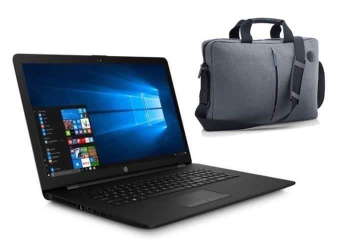 HP 17-bs061nf, PC portable 17 pouces pas cher bureautique à 339€