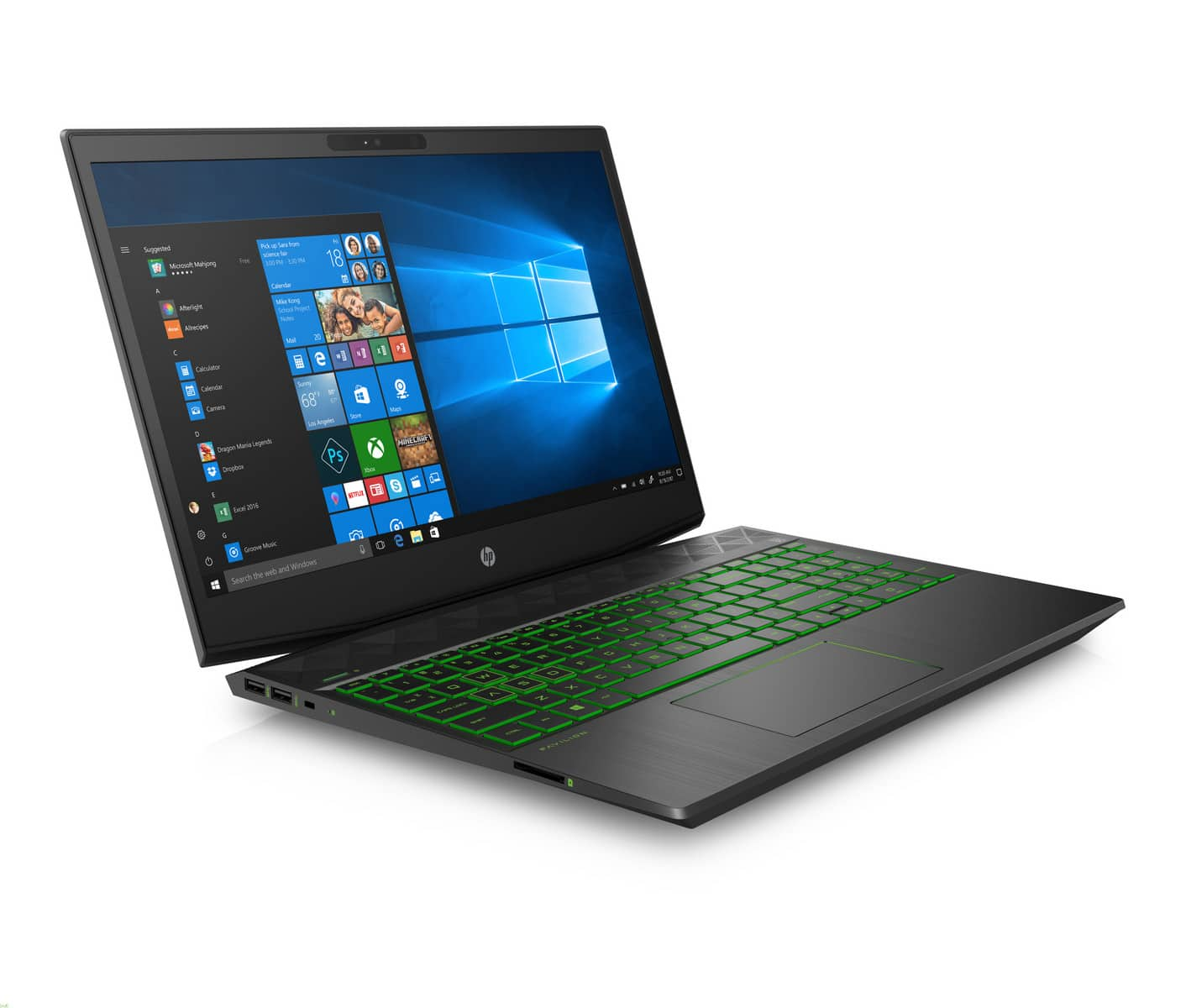 "<span class=""tagtitre"">Coffee Lake - </span>HP Pavilion Gaming Laptop 15"", PC portable 144Hz GTX Hexa Core"