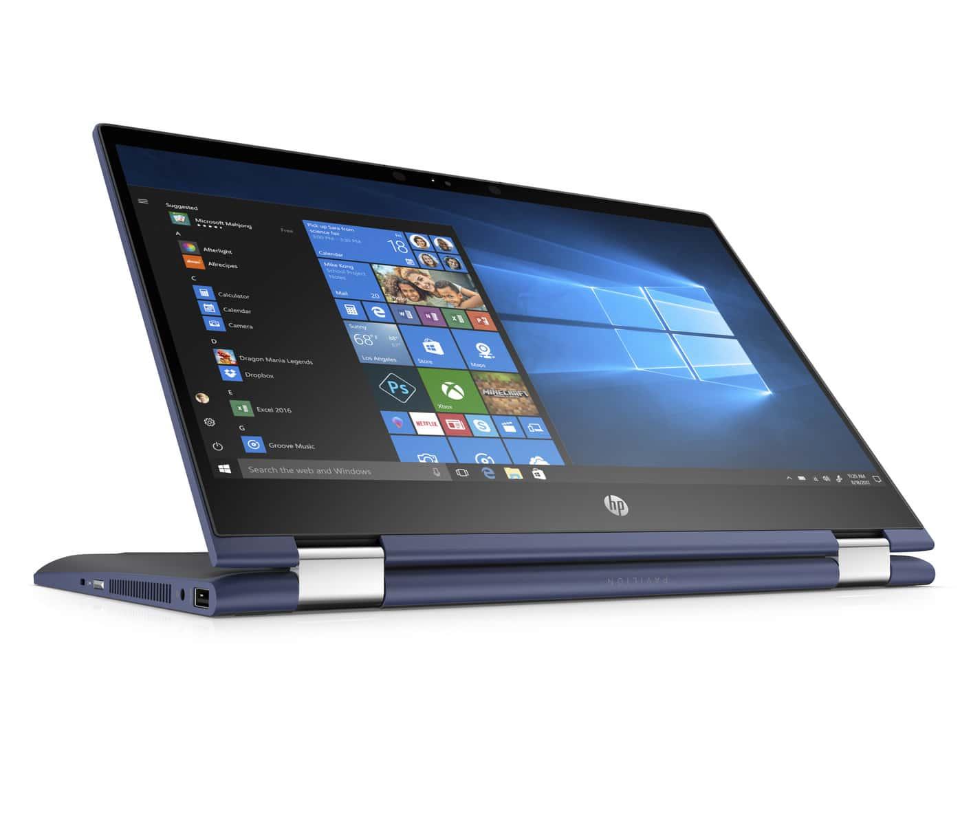 """HP Pavilion x360, PC portables convertibles Tablette de 14"""" et 15"""" Intel Core 8ème"""