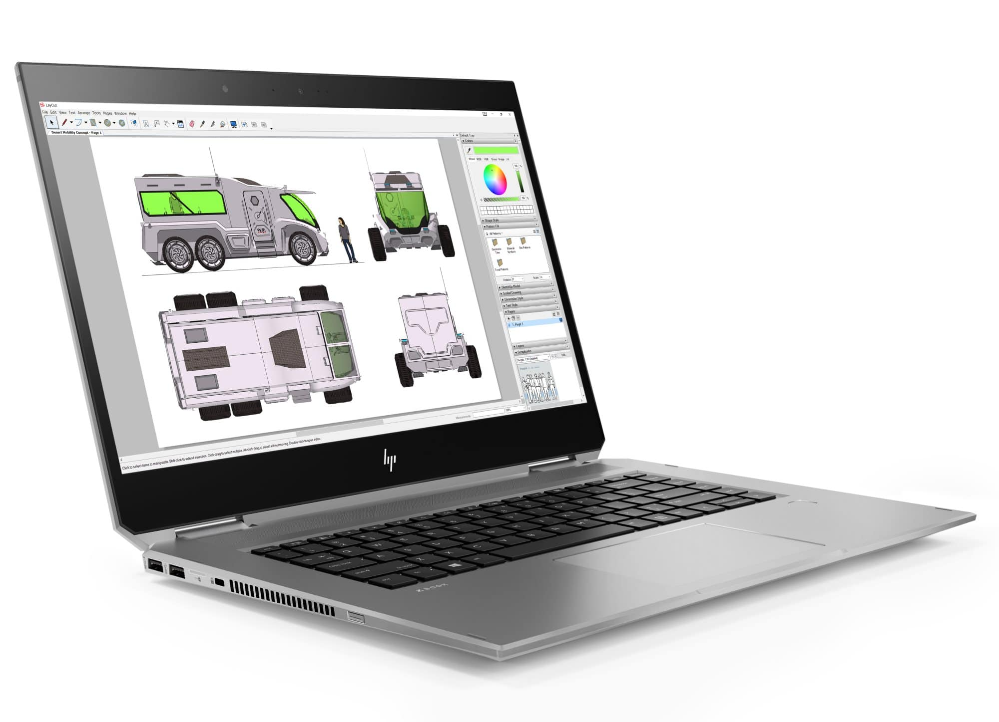 "<span class=""tagtitre"">Coffee Lake - </span>HP Zbook Studio x360, Ultrabook 15"" convertible Tablette"