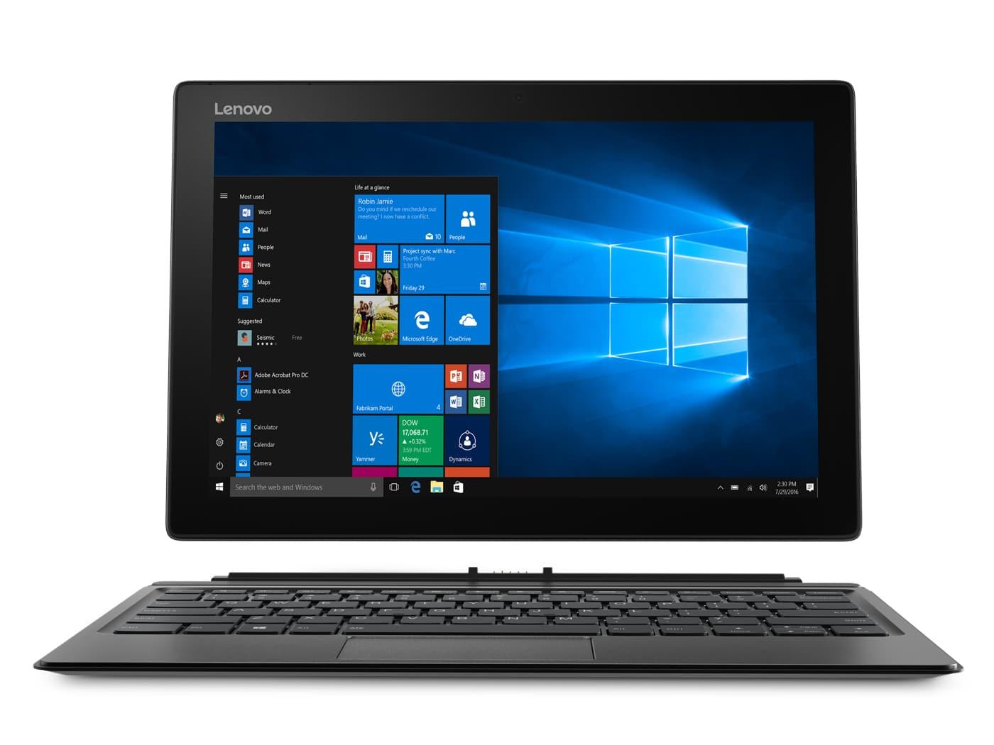 Lenovo Miix 520-12IKB, Tablette 12 pouces + dock 4G Quad i5 SSD256 à 1200€
