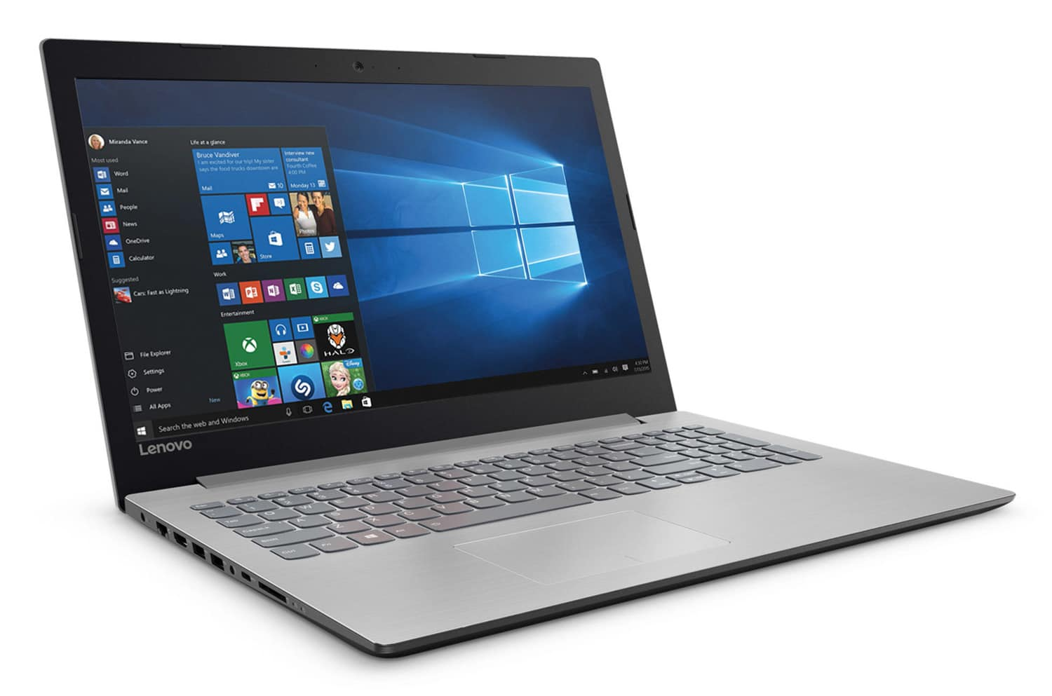 "Lenovo IdeaPad 320-15IKBN à 599€ PC portable 15"" Full SSD+1 To Core i5 920MX"
