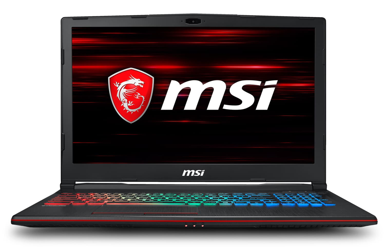 "MSI GP63 8RD-084XFR 1208€ PC portable 15"" 120Hz Coffee Lake GTX 1050 Ti"