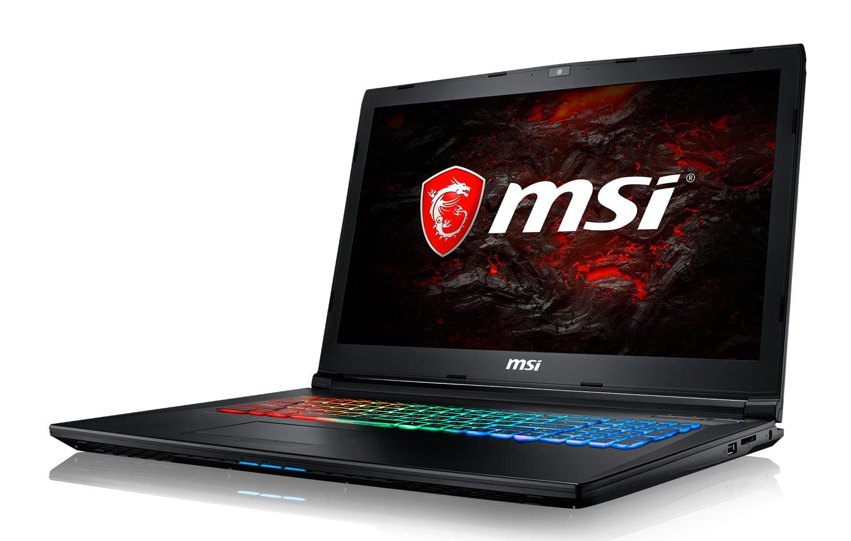 "MSI GP72MVR 7RFX-849, PC gamer 17"" GTX 1060 i7 16 Go (1249€)"
