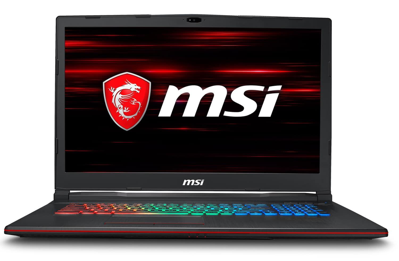"""MSI GP73 8RE-033FR 1487€, PC portable 17"""" 120Hz Coffee Lake GTX 1060 SSD"""