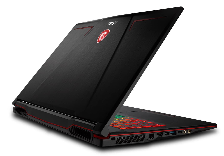 """MSI GP73 8RD-007FR 1394€, PC portable 17"""" 120Hz GTX 1050 Ti Coffee Lake SSD"""