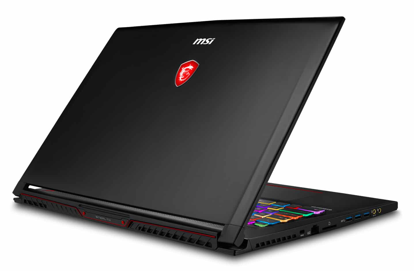 MSI GS73 8RE-016FR, Ultrabook 17 pouces IPS 4K Coffee Lake GTX 1060 2599€