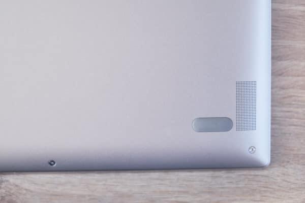 Test ultrabook Lenovo Yoga enceinte