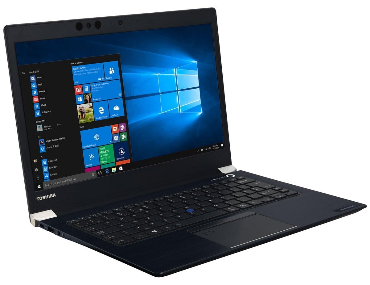 "Toshiba Portégé X30-D-10V, Ultrabook 13"" Full SSD i5 Pro (599€)"