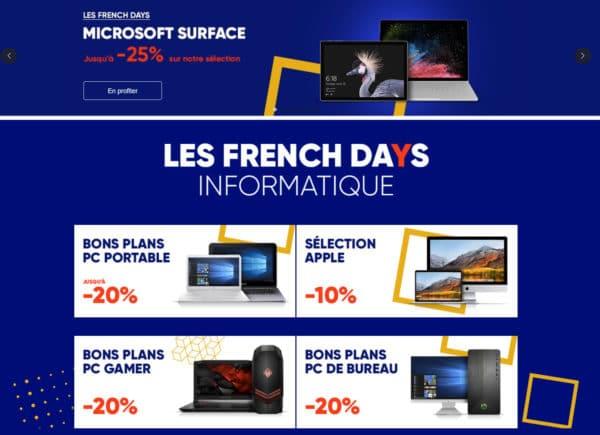 French Days Fnac 20 De Remise Immediate Sur Les Ordinateurs