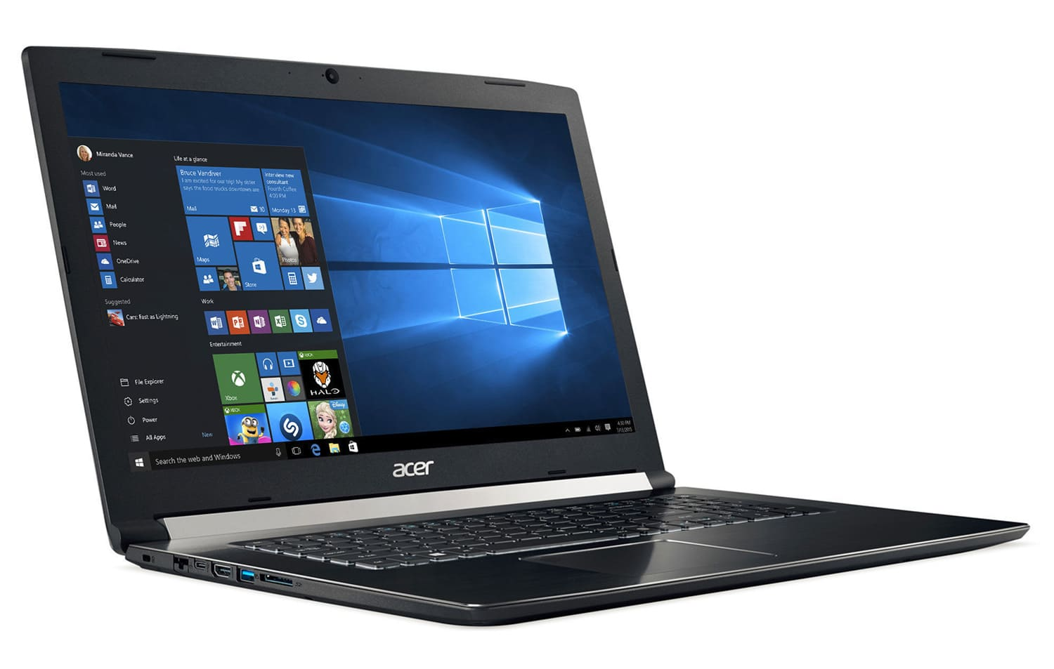 Acer Aspire A717-71G-70U2, PC 17 pouces Full IPS i7 Kaby GTX 1050 (799€)