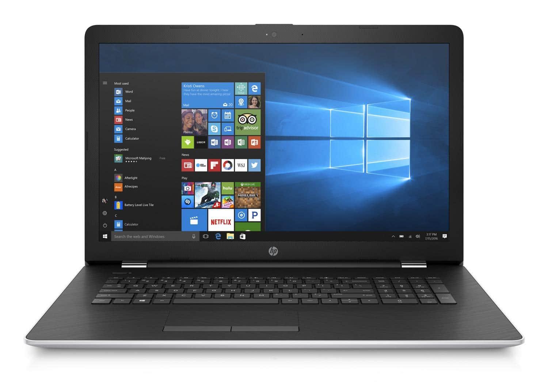 HP 17-bs513nf, PC 15 pouces bureautique 2 To i7 Kaby 12 Go Radeon (769€)