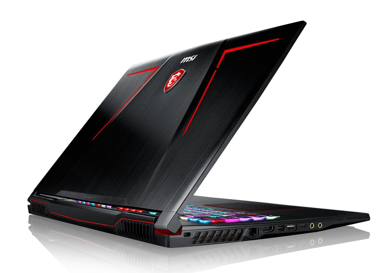 MSI GE73VR 7RF-280FR, PC portable 17 pouces 120Hz GTX 1070 SSD i7 1979€