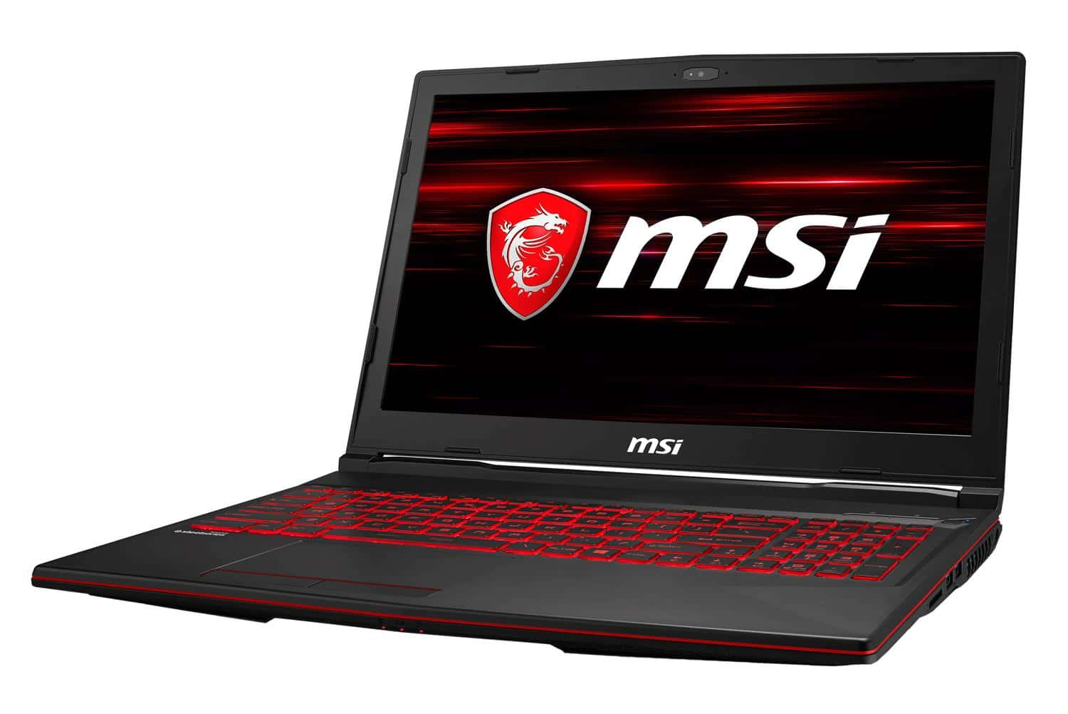 "MSI GL63 8RD-021XFR, PC portable 15"" Coffee Lake SSD GTX 1050 Ti (719€)"