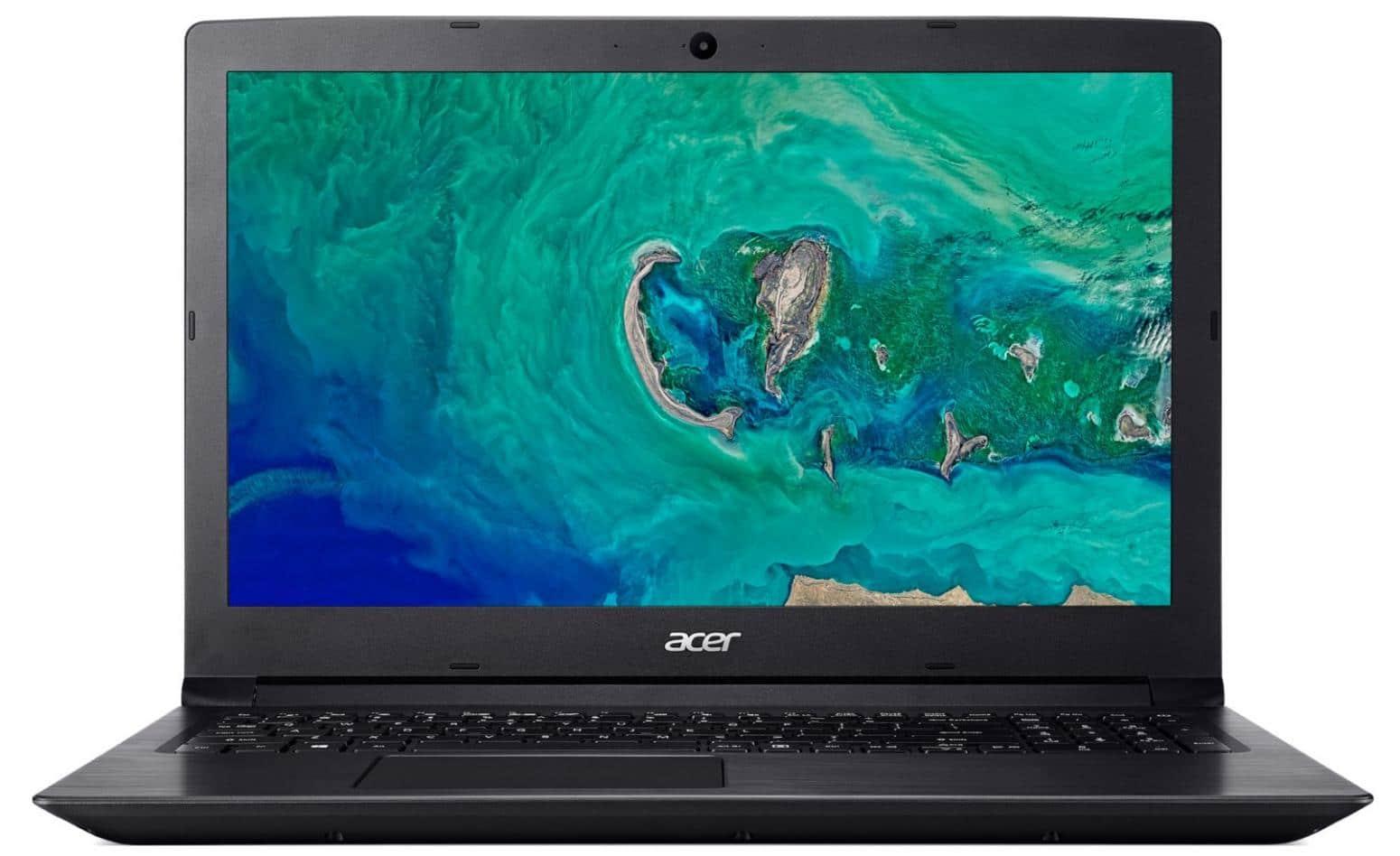 Acer Aspire A315-41-R8AV, PC portable 15 pouces bureautique Ryzen 3 à 382€