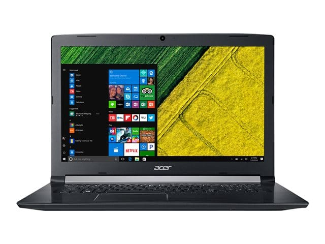 "Acer Aspire A517-51P-32GB à 622€, PC portable 17"" Kaby Lake Refresh Pro"