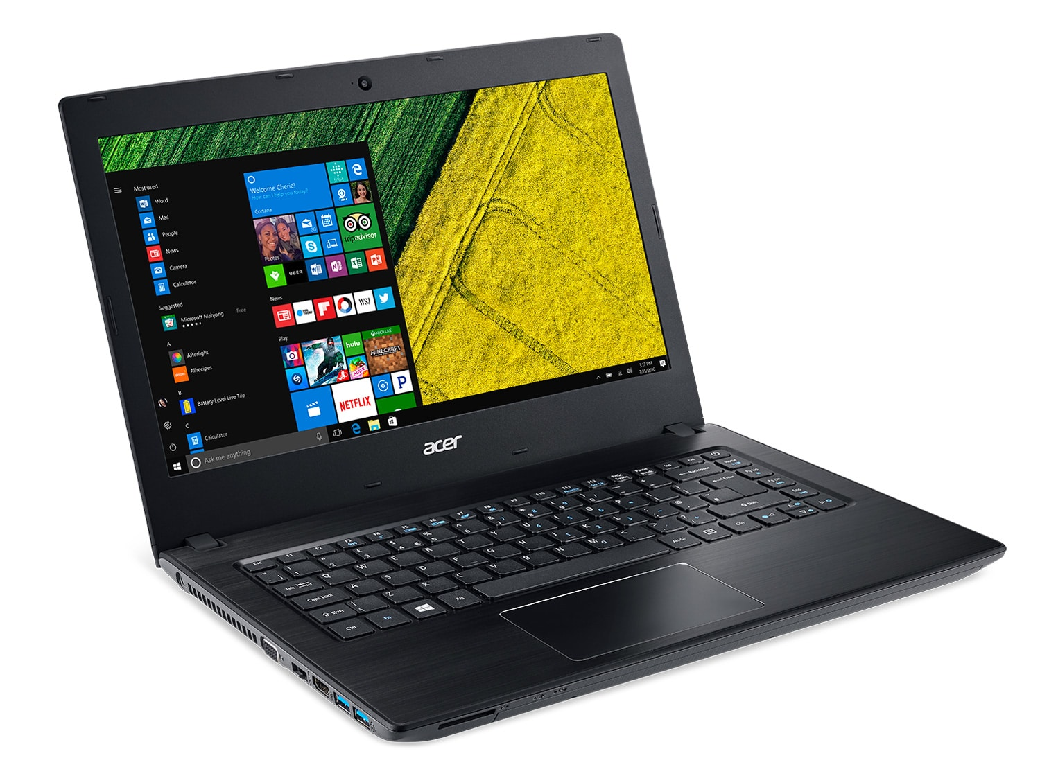 Acer Aspire E5-475-38XL, PC portable 14 pouces SSD+HDD i3 (449€)