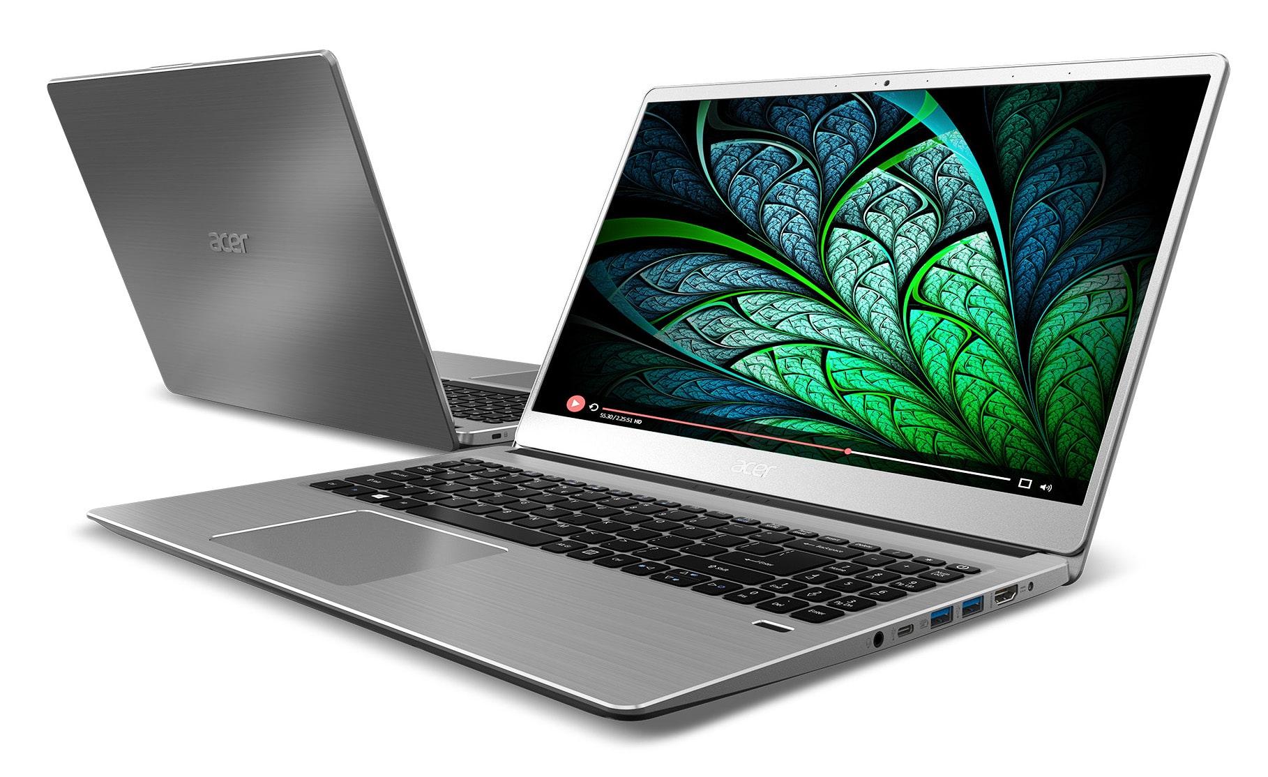 """Acer Swift 3 SF314-52-80A1, ultrabook 14"""" Full IPS Quad i7 SSD256 (739€)"""