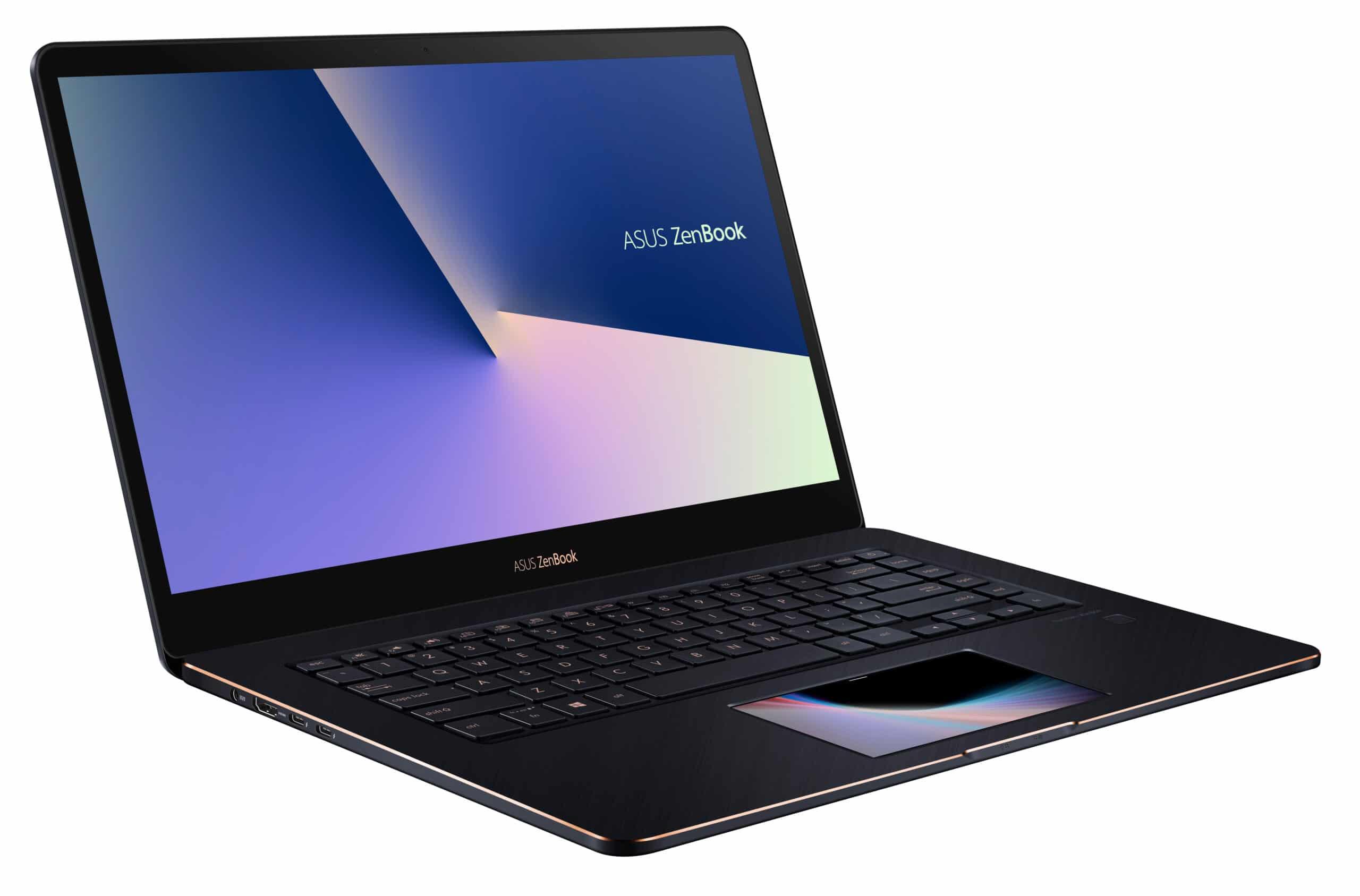 Asus ZenBook UX580GD-BO001T, Ultrabook tactile ScreenPad (1377€)