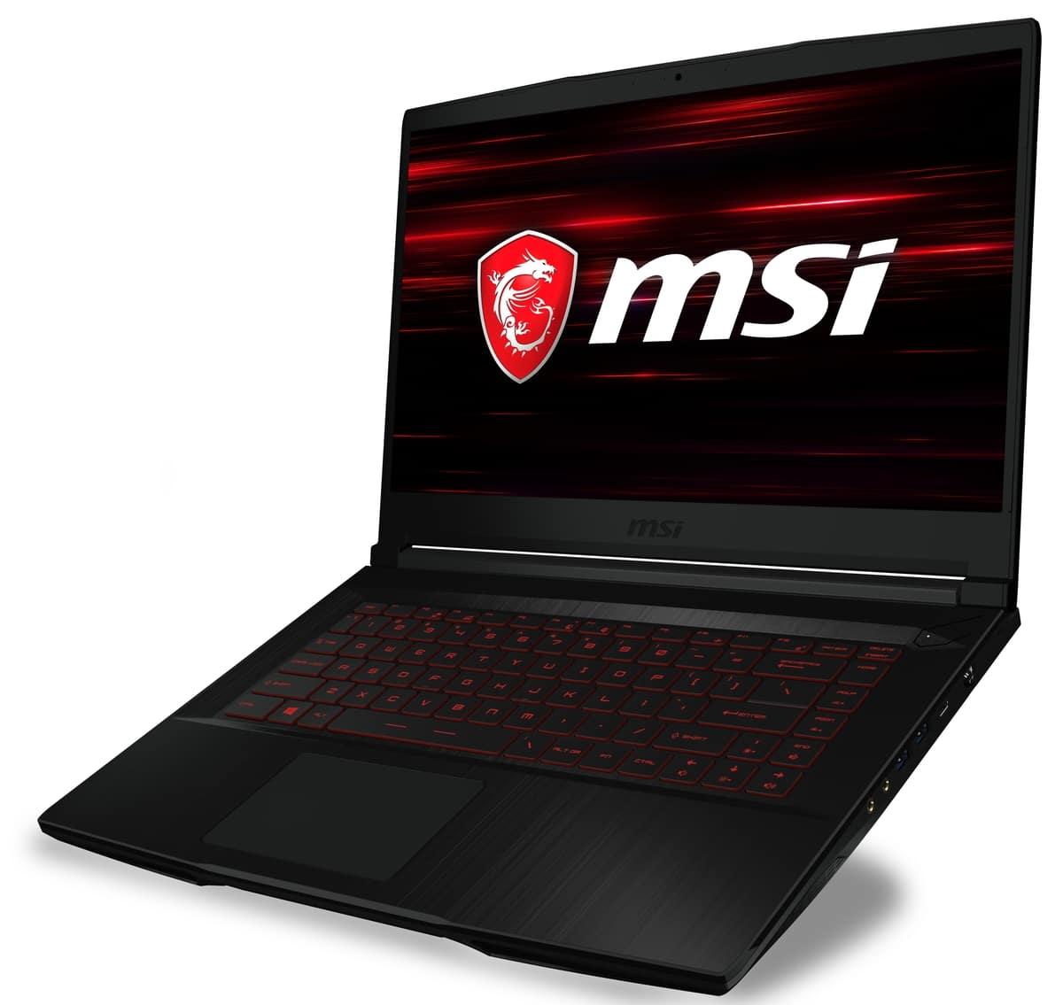 "<span class=""tagtitre"">Computex 2018 - </span>MSI GF63, nouveau PC portable 15"" fin Coffee Lake et GTX"