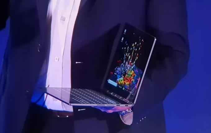 """<span class=""""tagtitre"""">Lenovo Yoga Book 2 Pro - </span>plus d'info sur l'Ultrabook 2-en-1 à double écran"""
