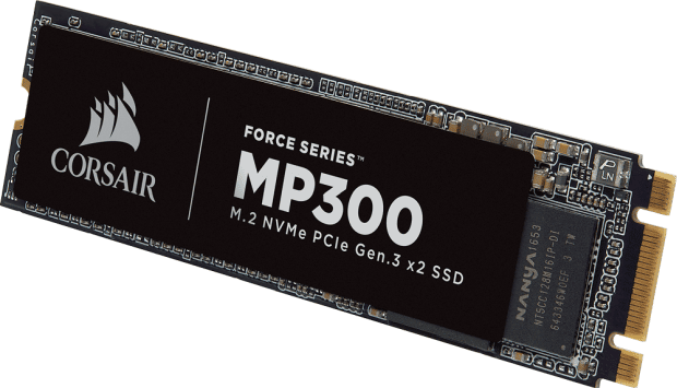"<span class=""tagtitre"">Computex 2018 - </span>Corsair MP300, un nouveau SSD M.2 NVMe abordable"