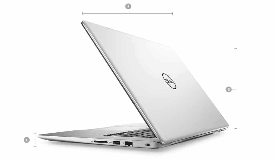 "Dell Inspiron 15 7000, Ultrabook 15"" IPS SSD 512 i7-8550U MX130 (836€)"