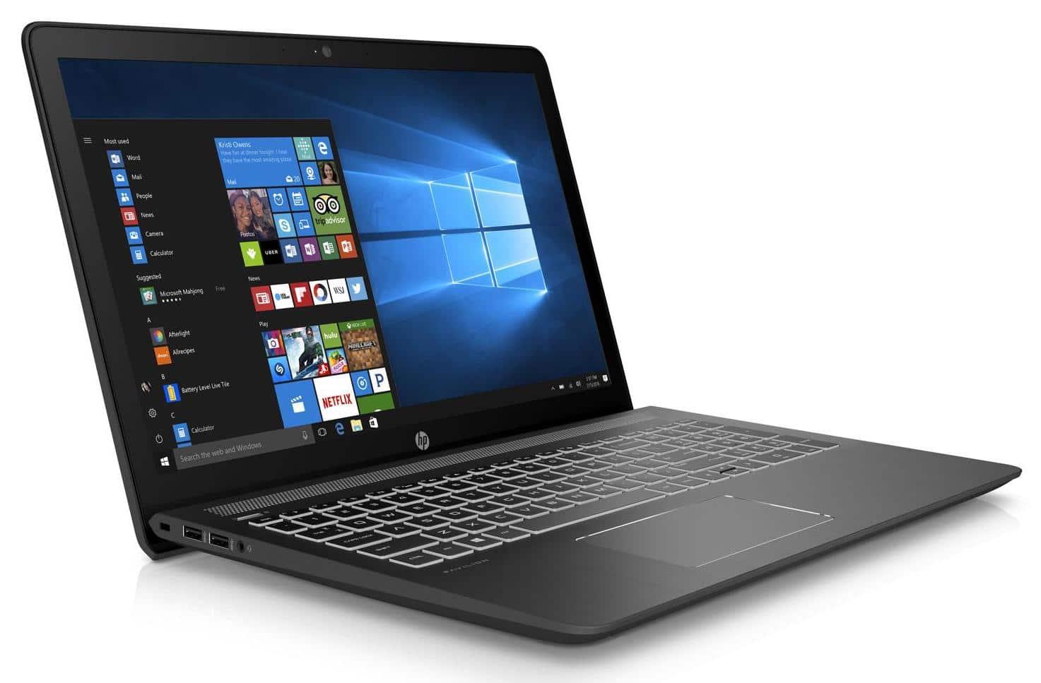 "HP Pavilion Power 15-cb035nf, 15"" gamer 1050 Ti SSD256 (639€)"