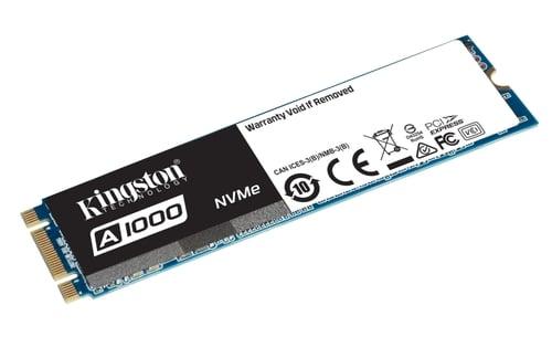 """<span class=""""tagtitre"""">Bon Plan - </span>SSD M.2 NVMe Kingston A1000 de 480 Go garanti 5 ans pour 144€"""