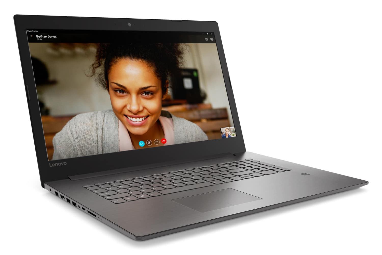 "Lenovo IdeaPad 320-17IKB à 399€, PC portable 17"" mat Kaby Lake"