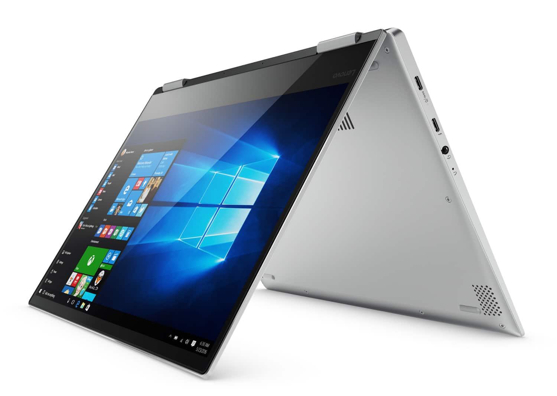 Lenovo Yoga 720-13IKBR, ultrabook 13 pouces Tablette Full IPS Quad i5 SSD à 810€
